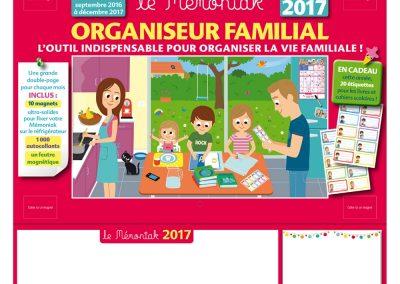 Organiseur familial - Memoniak